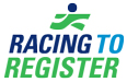 Racing To Register Logo
